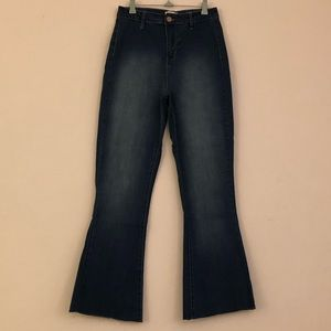 YMI High Rise Flare Bottoms Jeans